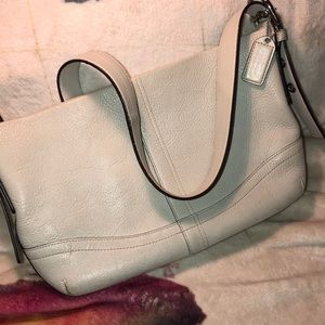 Coach Vintage Leather Crossbody Good Condition